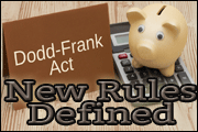 Changes To The Dodd-Frank Rules